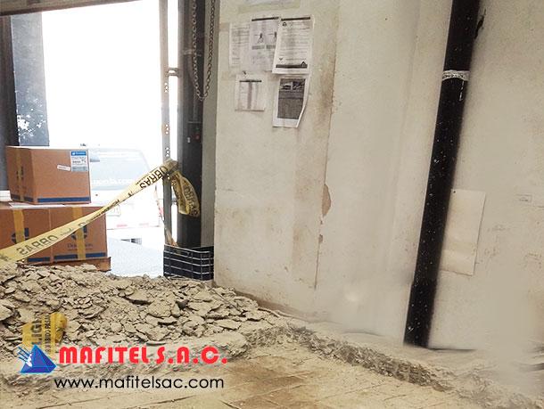 Fabricación de balanza industrial Perú